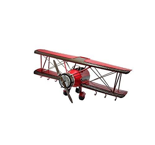 JU FU Ablagegestelle Retro Flugzeug Modell Wandhalterung Rack - Eisen Kunst Bar Office Wand Dekoration Haken - Home Schlafzimmer Lagerregal / (42 * 16 * 16 cm)
