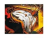 Salvador Dalí Poster/Kunstdruck Les montres molles 50 x 40 cm