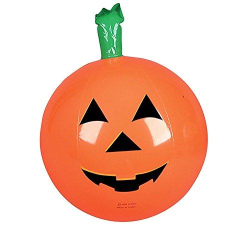 One Halloween Inflatable Pumpkin Jack O Lantern Beach Ball - 16 by Rhode Island Novelty