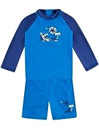 WELLYOU Langarm Shirt blau weiß türkis weiß maritim Ringel 56-110 Ökotex *NEU*