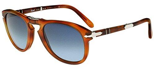 Persol PO 0714SM Steve McQueen 96/S3 Havane Verres polarisés dégradés Edition limitée Medium