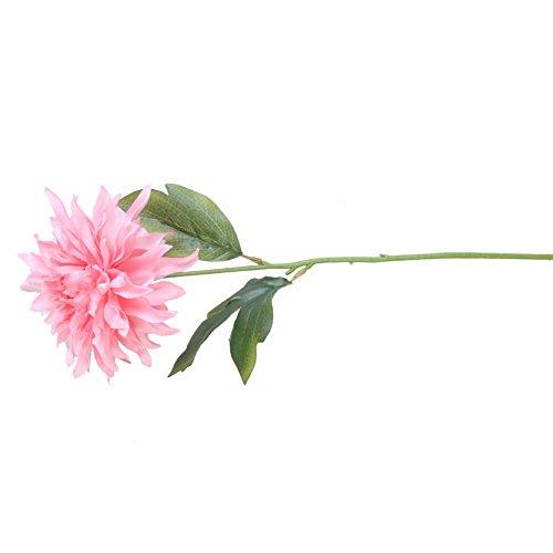 RYcoexs 1 Têtes De Mode Artificielle Pivoine Fleur De Noce Bouquet Décor À La Maison Cadeaux Rose Red