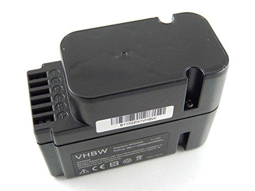 vhbw Li-Ion Akku 2000mAh (28V) für Rasenmäher Roboter Worx Landroid L1500i WG798E, M 500B WG755E, M WG794E, M WG794EDC Wie WA3225, WA3565.