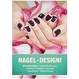 "DIN-A1 Nagelstudio ""Nageldesign"" Plakat Poster Kundenstopper Kosmetik Beauty"