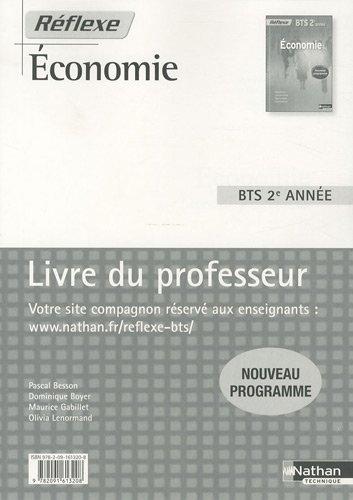 Economie BTS 2e année : Livre du professeur par Pascal Besson