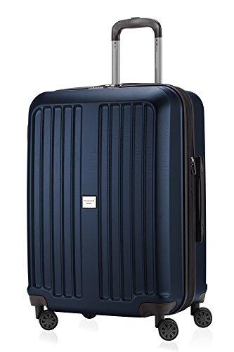HAUPTSTADTKOFFER - X-Berg - Koffer Trolley Hartschalenkoffer, TSA, 65 cm, 90 Liter, Dunkelblau
