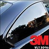 StickersLab - Pellicola omologata ABG oscuramento Vetri Auto serie Black Shade di 3M™ BS 30% (50cm x 3 Metri)