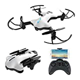 ATOYX AT-146 FPV Foldable RC Drone, 720P Wide Angle HD Camera Live Video