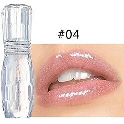 Muium Rouge à LèVres Liquide Gloss Multicolor Transparent Makeup Primer Extreme Brillant Maquillage à LèVres