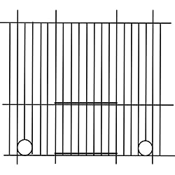 Pennine - Rejilla frontal para jaula de periquitos (45cm X 30cm) (Talla Única/Variado)