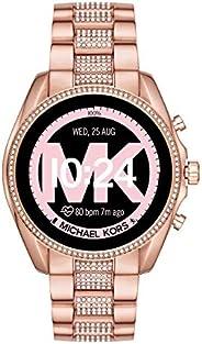 Michael Kors Gen 5 Bradshaw Women's Multicolor Dial Stainless Steel Digital Smartwatch - MKT