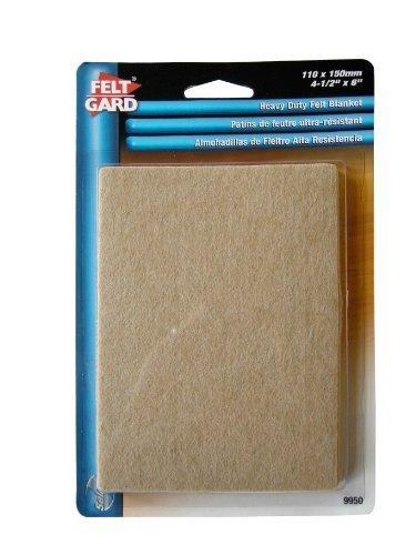 Felt Guard Pad Heavy Duty Blanket Size: 4-1/2\