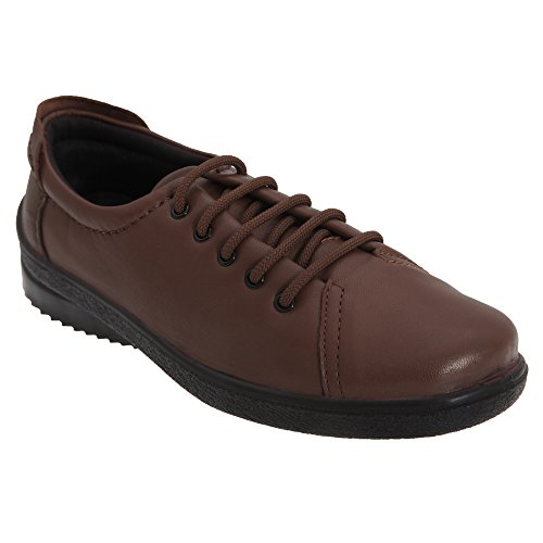 Mod Comfys - Chaussures à lacets - Femme Bordeaux