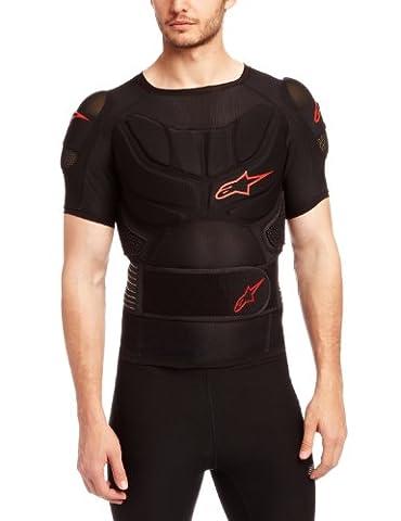 Alpinestars T-shirt à courtes manches Comp Pro pour sports nordiques noir noir/rouge xx-large