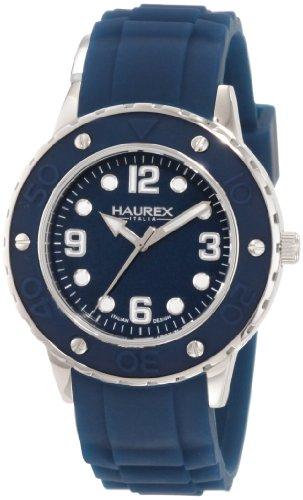 Haurex Italy - 1D371DB1 - Montre Femme - Quartz Analogique - Bracelet Caoutchouc Vert