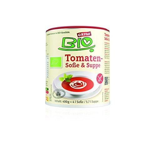 GEFRO Bio Tomatensoße/-Suppe 400g