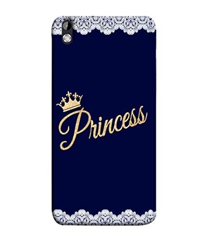 Printvisa Golden Shiny Colored Crown King Back Case Cover For Htc Desire 816, Htc Desire 816 Dual Sim, Htc Desire 816G Dual Sim