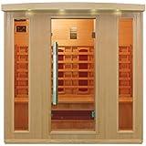 Cabina de infrarrojos/calor cabina/sauna–Esquina. Para 4persona especial Acción