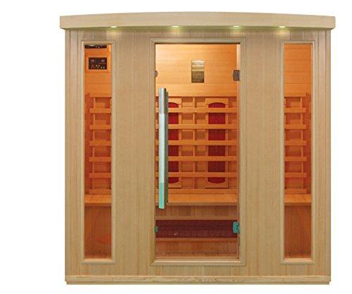 Preisvergleich Produktbild Infrarotkabine / Wärmekabine / Sauna - ECK ! für 4 Person SONDERAKTION