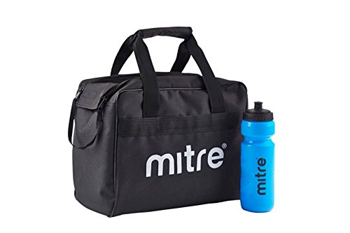 Mitre, h4005, borsa per bottiglie, unisex adulto, nero, set da 8