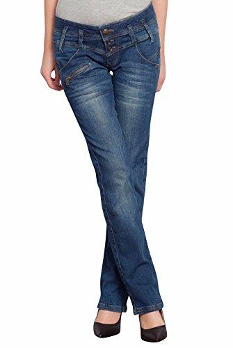 Freeman T Porter -  Jeans  - Straight  - Basic - Donna Bleu - eris 24W x 32L