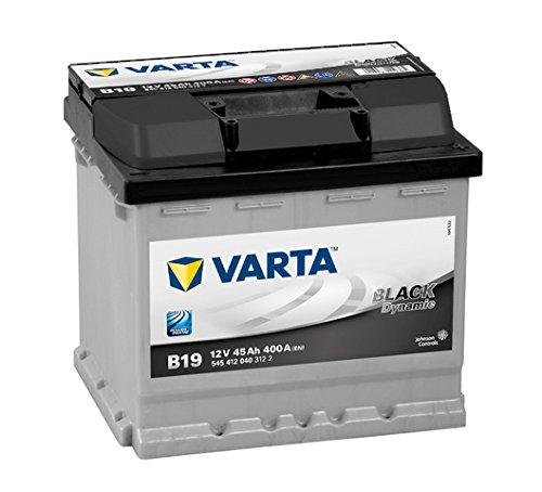Varta BLACK Dynamic B19 Autobatterie 545 412 040 3122, 12V 45Ah 400A/EN -