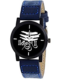 Scarter Mahadev Black Dial Analog Watch For Boys And Men-MH-Black-1
