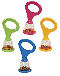 Halilit MP36636 Baby Maracas - Single Supplied (Colour Vary)