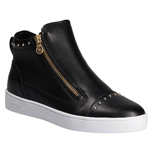 Guess Sneakers Alta FLGEN1 LEA12 FLGEN1LEA12BLACK Schwarz