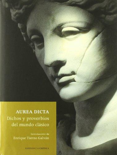 Aurea dicta (Referencia) por Aa.Vv.