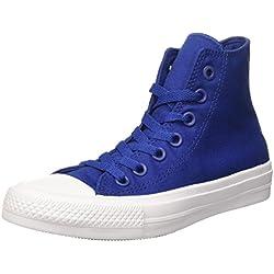 Converse Chuck Taylor All Star Ii Hi - gimnasia Unisex adulto, Azul, EU 37 (US 4.5)