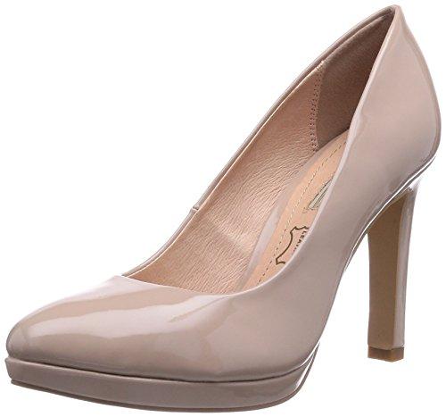 Buffalo Shoes H748-1 P1236S, Damen Plateau Pumps, Beige (PINK 34), 39 EU