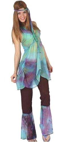 Disfraz de Hippie Baba Cool para mujer
