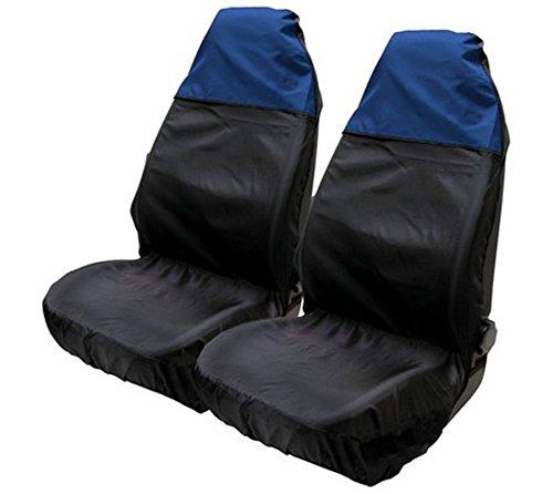 Asc-sedile, in nylon resistente all'acqua, colore: blu/nero