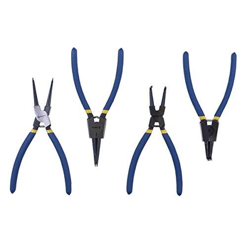 ruwoo z240044Pneumatische Werkzeug 22,9cm intern/extern CR-V Snap Ring Zangen -