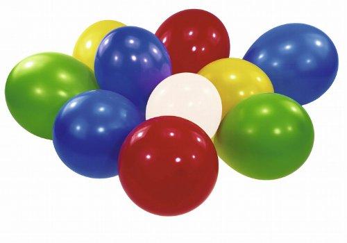 Riethmüller 6434 - 100 Luftballons, Umfang circa 65 cm, regenbogen (Luftballons Versorgt)