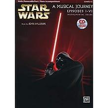 Star Wars I-VI (violin/piano/CD) --- Violon/Piano - Williams, John --- Alfred Publishing