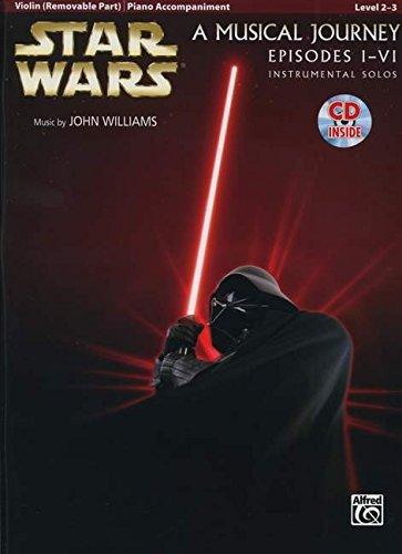 Star Wars Instrumental Solos for Strings (Movies I-VI): Violin (Book & CD) (Pop Instrumental Solo Series) por John Williams