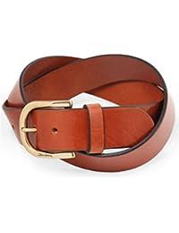 Oliver Sweeney Men's Leather Evry Belt Tan