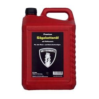 Kettenbertl Premium Sägekettenöl mit Haftzusatz 5l Kanister