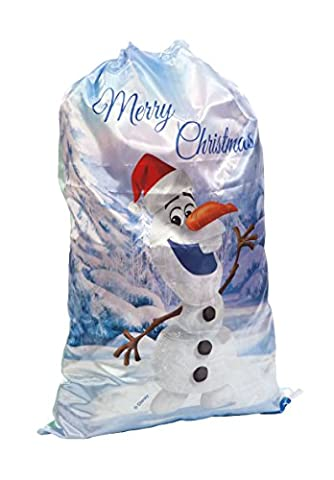 Disney Frozen 45 cm Olaf Christmas Sack, Multi-Colour