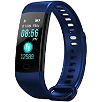 Smart Watch,LuckUK❤ Sport Watches,Digital Watches,Fitness Tracker,Activity Tracker,Pedometer,Heart Rate Monitor,Health Smart barcelet for Women Men Kids (Blue)