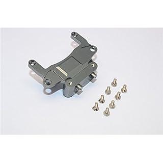 Kyosho Mini-Z AWD Tuning Teile Aluminium Rear Gear Box Lower Tray With Screws - 1Pc Set Gray Silver