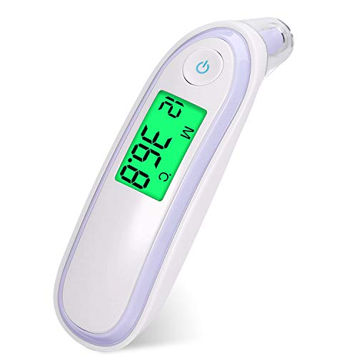 Baby Temperate Thermomètre Médical Yukicare Infrarouge Numérique Sans Contact Front Bébé Adulte Finely Processed Baby Thermometers