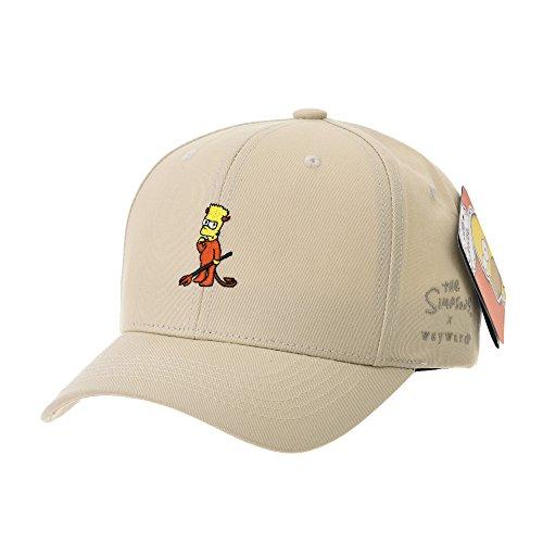 WITHMOONS Casquette de Baseball The Simpsons Baseball Cap Bart Simpson Red  Devil Hat HL1754 fc458ba6d496