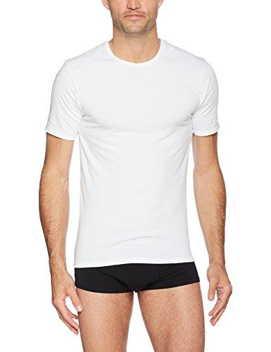 Nur T-shirt (Nur Der Herren Unterhemd T-Shirt X-Temp Rundhalsausschnitt, Weiß (Weiß 30), X-Large (Herstellergröße: 7 = XL))