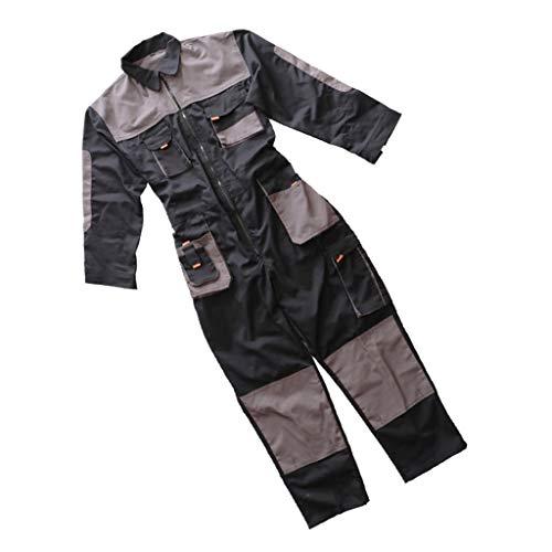non-brand Premium Baumwolle Overall Arbeitsschutz Uniform Overall Kleidung - XXL - Xxl-uniform-kleidung