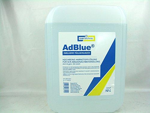 CARTECHNIC AD Blue Adblue Tuyau d'arrosage 10 l