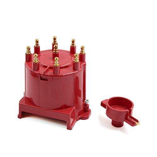 sourcingmap 8406 Zündung Zündverteiler Kappe und Rotor Kit externe Spule (Kappe Und Rotor)