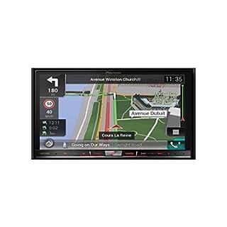 "Pioneer Naviceiver AVIC-F88DAB | High Quality Multimedia Autoradio mit kapazitivem 7"" Zoll Doppel Din Radio mit Navi | DAB+ | Bluetooth Freisprechfunktion | RDS-TMC | Touchscreen | CD/DVD Player |HDMI | AV | USB | AUX | SD-Kartenslot"